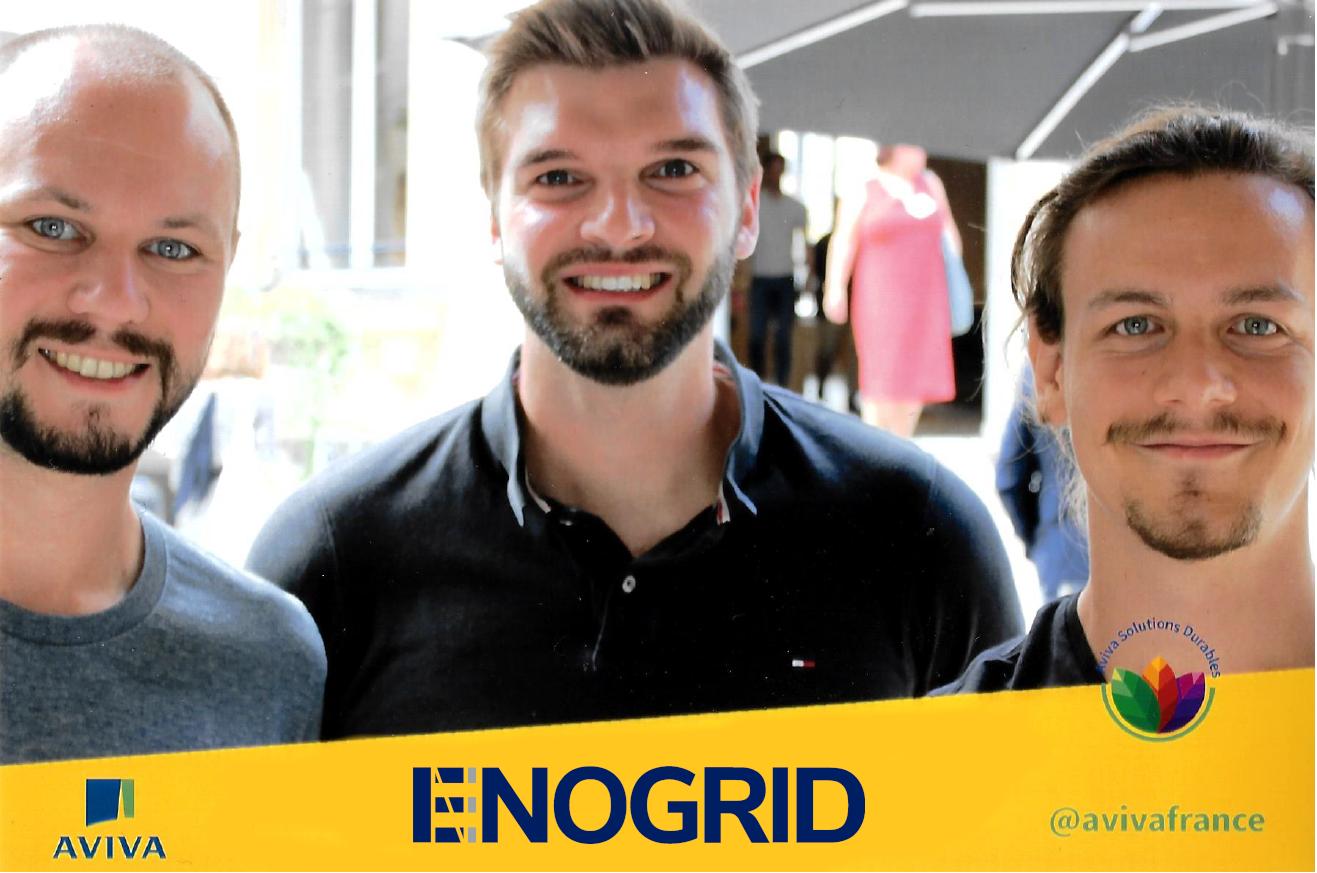 Enogrid grand gagnant du concours la Fabrique Aviva! Merci de votre soutien